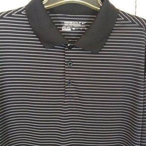 Nike Golf Tour Performance Dri Fit Black Shirt XL
